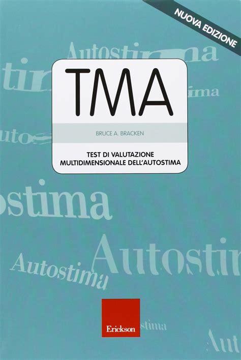 autostima test tma test di valutazione multidimensionale dell autostima