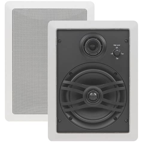 in wall speakers yamaha ns iw470c in wall speaker