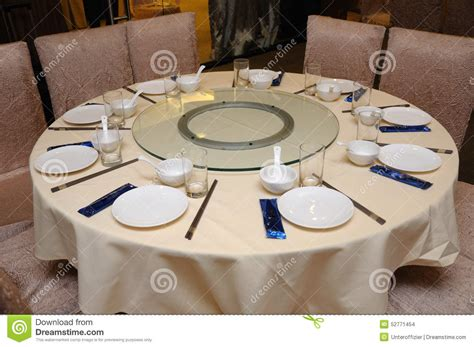 how to set up a table oriental restaurant table setting stock photo image