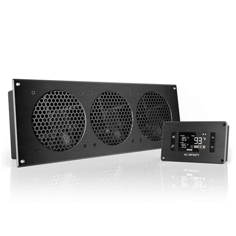 entertainment center cooling fan kit airplate t9 home theater and av cabinet cooling fan