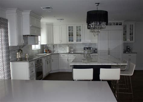 Vintage Steel Kitchen Cabinets white grey kitchen