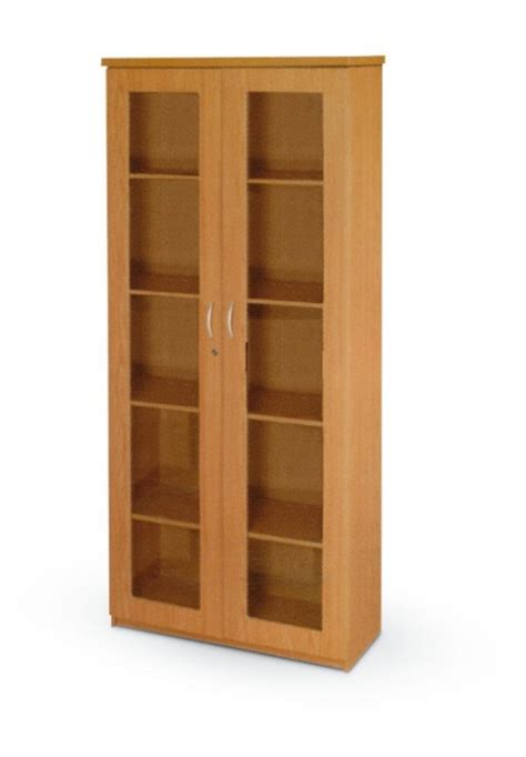 wooden cabinet with glass doors stationary cabinet with glass doors oxford office furniture