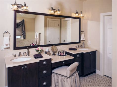 bathroom vanities with makeup area home design ideas