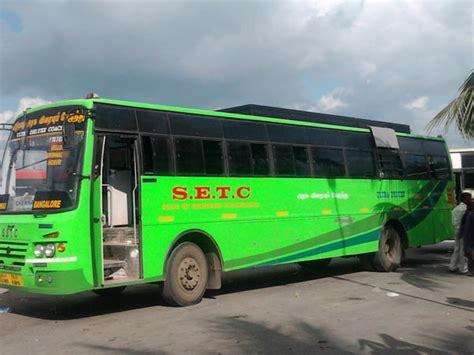 tamilnadu government volvo service strike hits tamil nadu scores of passengers stranded