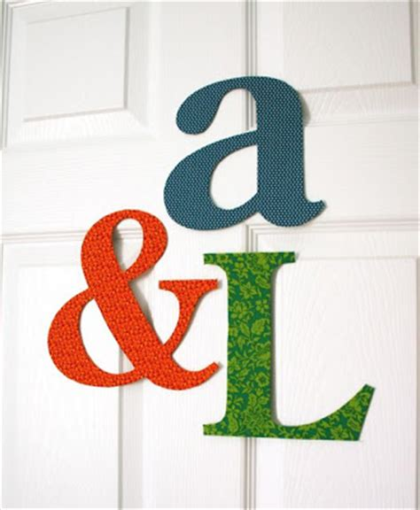 fabric covered letters for nursery mmmcrafts fabric covered letters