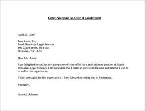business thank you letter for job offer