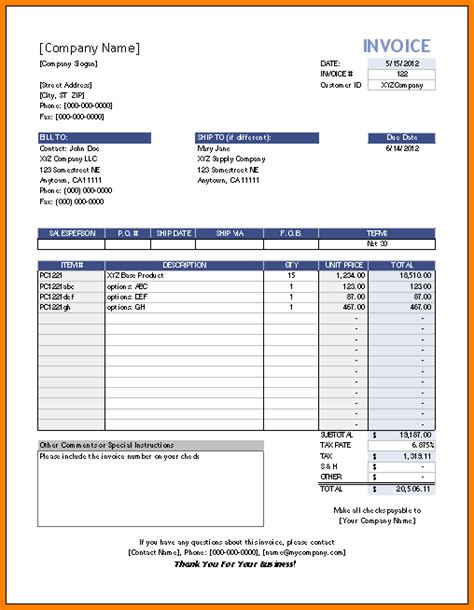 8 partial payment invoice template short paid invoice