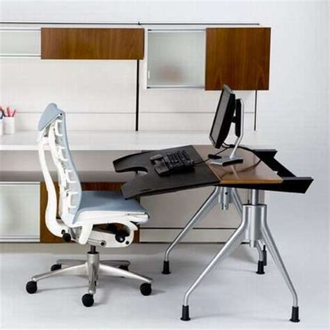 herman miller envelop desk workplace workouts office exercise becomes efficient with desk ready equipment