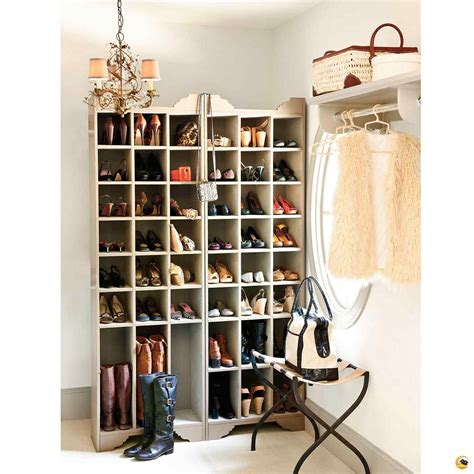 shoe closet storage two layer clear coating wooden rack for shoe organizer