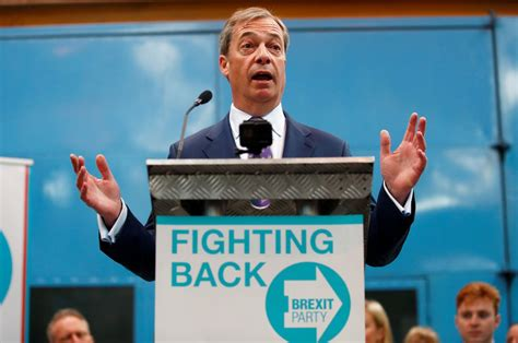 nigel farage launches new brexit party gg2