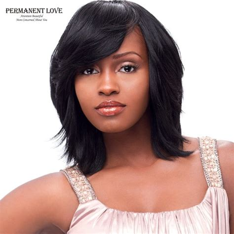 bang hair pieces for african americans synthetic wigs for black women fashion style long bob wigs