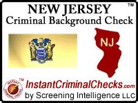 Free Criminal Background Check Nj New Jersey Criminal Background Checks For Employment