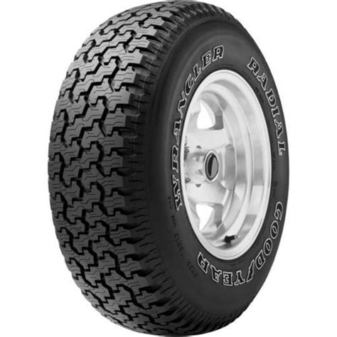 235 75r15 tire pressure best purchase the goodyear wrangler radial tire p235 75r15 at walmart save money live better