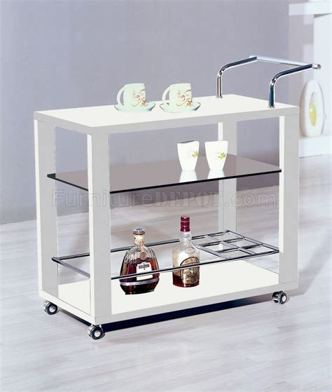 6233 serving cart in white by at home usa