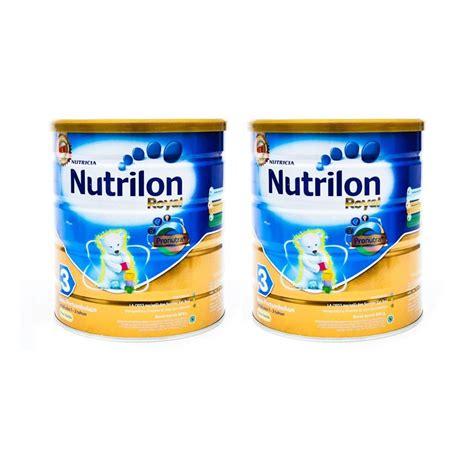 Nutrilon Royal Kaleng jual weekend deal nutricia nutrilon royal pronutra 3 rasa vanila formula 800 g 2 pcs