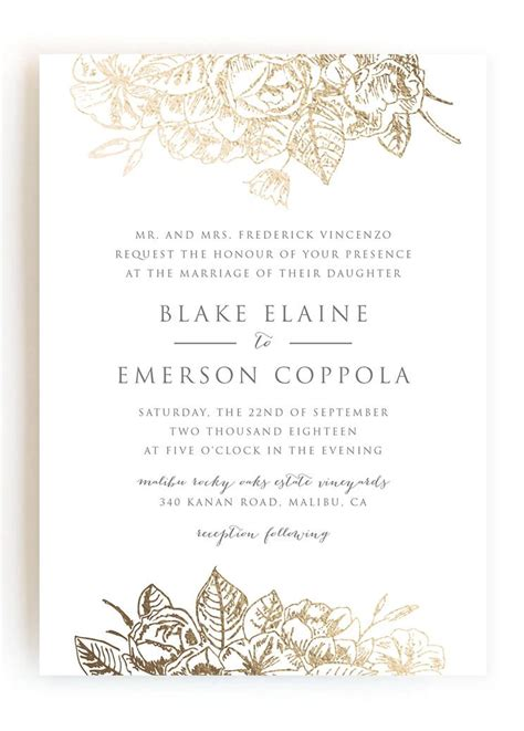 what do i say on a wedding invitation wedding invitations wedding stationery
