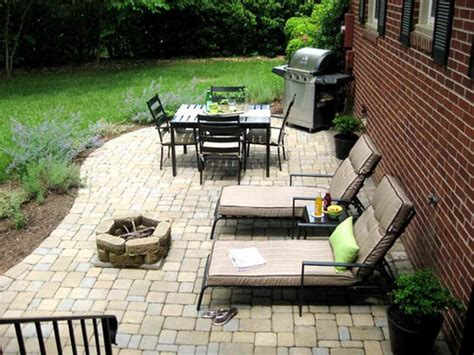 diy backyard patio bloombety inexpensive diy patio makeover ideas