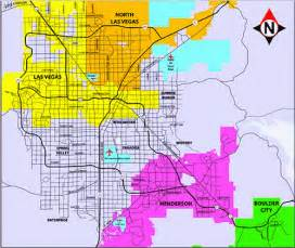 Map Of North Las Vegas by Boundaries Map Las Vegas North Las Vegas Henderson