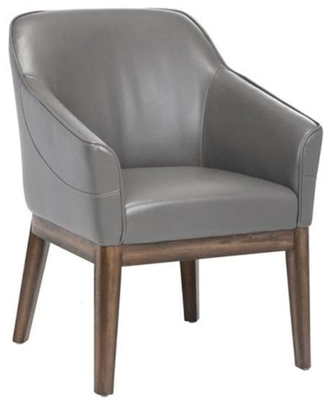 Comfortable Accent Chair Comfortable Compact Armchair With Distressed Finished Legs Transitional Armchairs And Accent