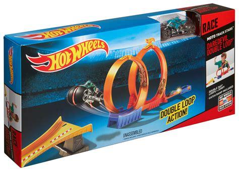 Hotwheels Loop Race wheels 174 moto track stars daredevil loop track set shop wheels cars trucks