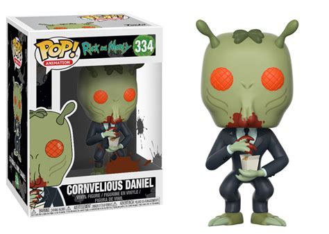 Funko Pop Original Rick And Morty Tinkles With Ghost In A Jar rick and morty 3 in arrivo ancora altri funko pop justnerd it