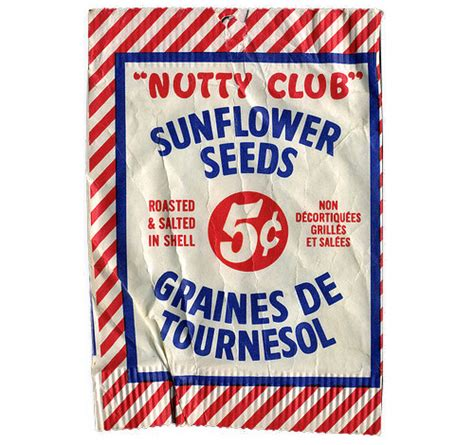 Club Detox On 1960 by The Canadian Design Resource Nutty Club Sunflower Seeds