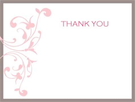 large 11x17 thank you card template printable pink wedding thank you card template