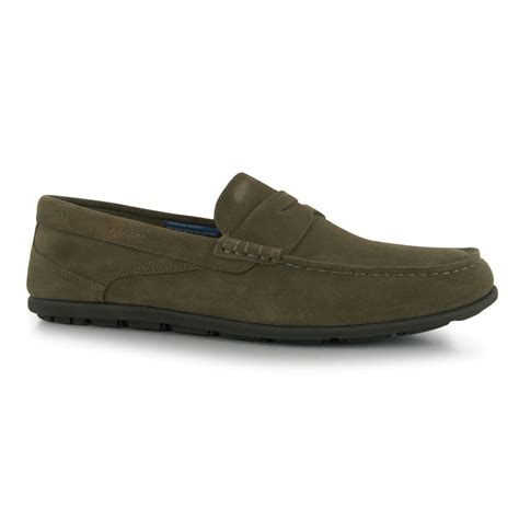 rockport mens lanepenny shoes lightweight slip on
