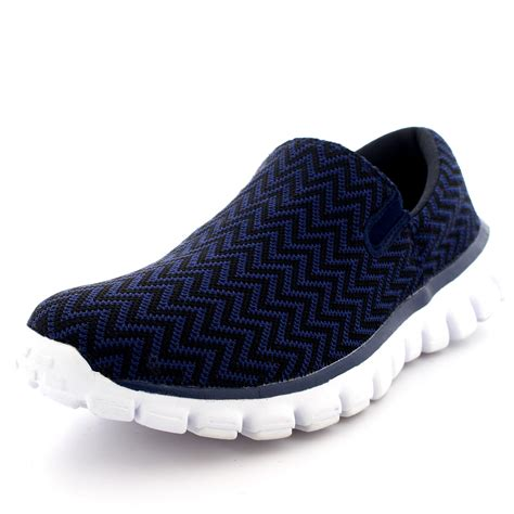 mens slip on sneakers mens sports slip on shoes walking office