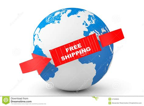 Free Delivery The Earth global delivery free shipping container with earth globe