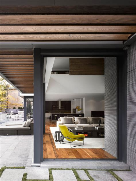 veranda wall design veranda glass walls impressive modern home in toronto