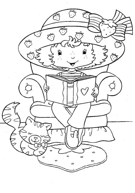 strawberry shortcake coloring pages fantasy coloring pages