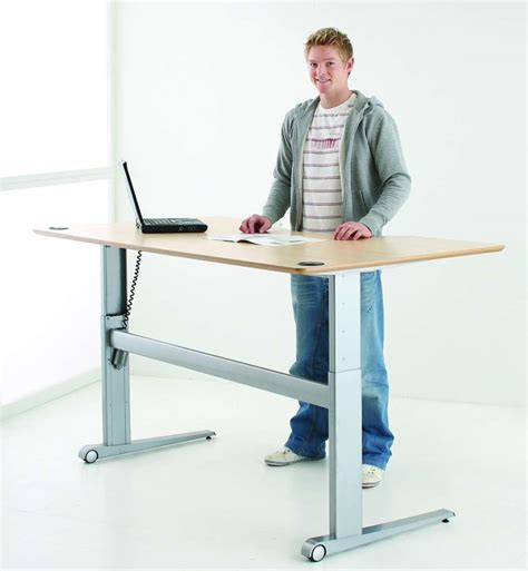 adjustable desks for standing or sitting uk sit stand desk standing desk stockist height
