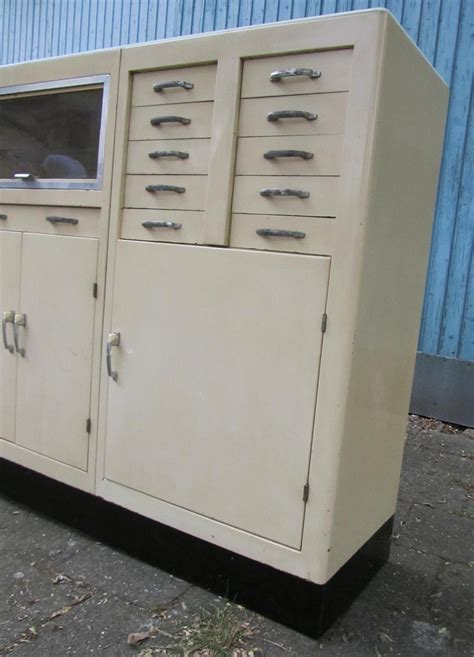 dental cabinets for sale large vintage industrial doctor s dental cabinet 1950s
