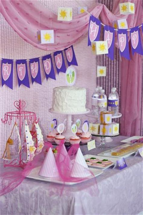 Tangled Baby Shower tangled princess birthday baby shower ideas