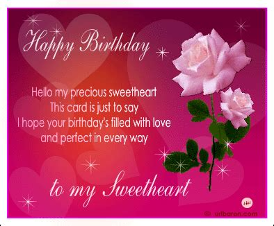 Wishing Happy Birthday To Lover Birthday Wishes For Lover
