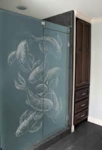 etched glass shower door designs shower door etched glass designs