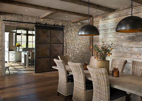 Interior Design Dining Rooms 10 magnifiques salles 224 manger avec des portes
