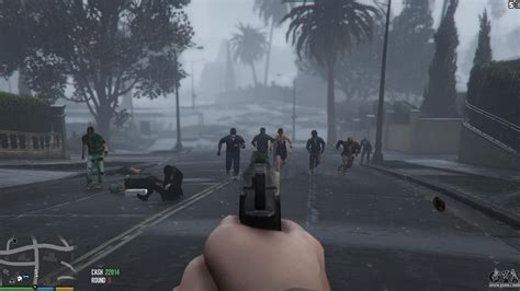 Mod Gta 5 Zombie | zombies 1 4 2a for gta 5