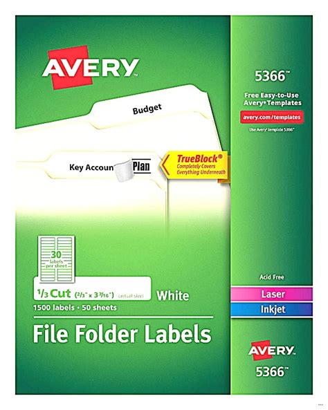 avery 5266 template download free template for avery 5366 file folder labels the hakkinen