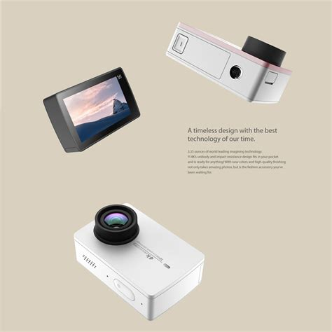 Gopro Xiaomi Travel travel package xiaomi xiaoyi mi yi sport 4k wifi gopro touch screen lcd