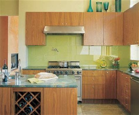 painted kitchen backsplash photos refresheddesigns green idea diy kitchen backsplashes