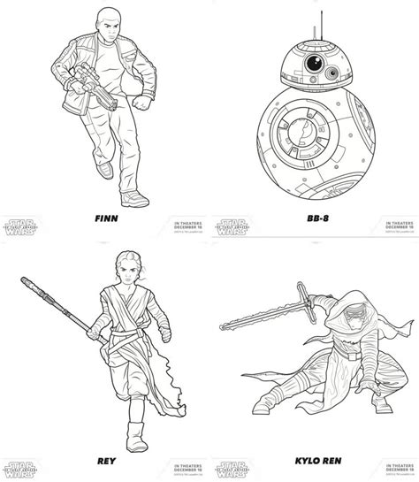 free coloring pages star wars characters coloring home