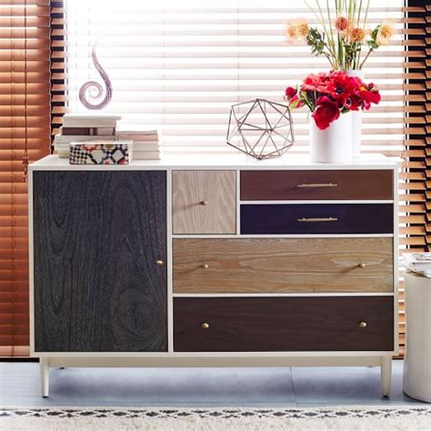 Patchwork Wood Furniture - patchwork dresser multi west elm