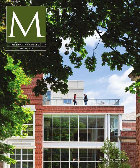 Manhattan College Mba Tuition by Manhattan College Alumni Magazine 2013 By Manhattan