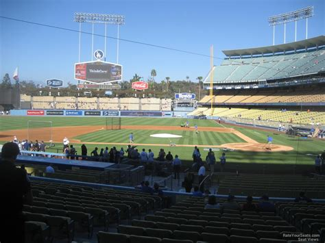 section 13 a dodger stadium section 13 rateyourseats com