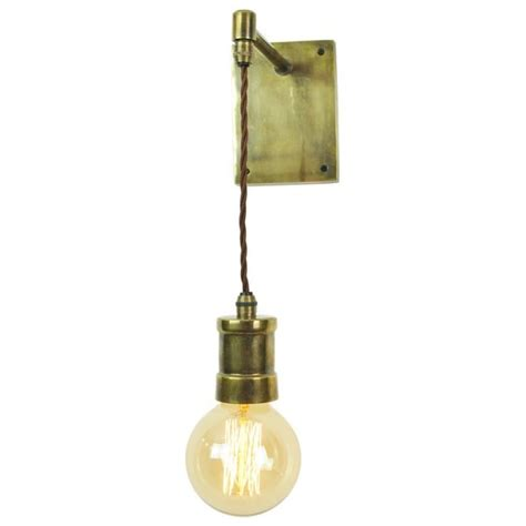 edison bulb hanging light industrial hanging wall light in antique finish with
