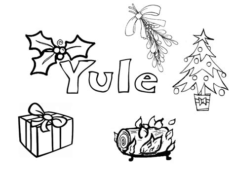 yule collection little pagan acorns