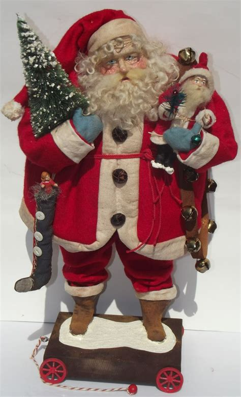 Handmade Santas - 17 best images about handmade santas on