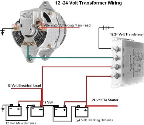 24 volt alternator wiring wiring diagram with description